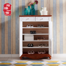 hot sale new design wooden shoe cabinet for home furniture