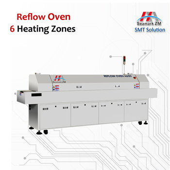 New hot air automatic cheap smt reflow oven,reflow soldering machine A600 mini 6 zones