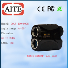 800 meter Aite Laser Golf Range Finder with angle for golf putter Laser Rangefinder