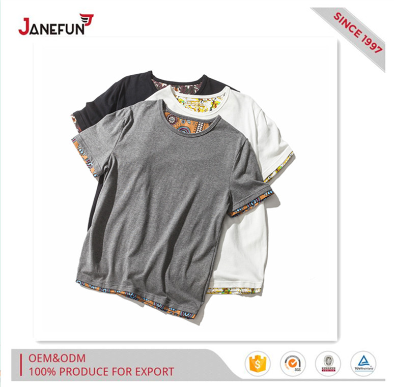 Stylish ethnic style joint tshirt for men