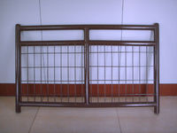 USA/Canada style livestock cattle/farm/ranch fence panel gates/6rails horse fencing gate(China Factory&Suppier)