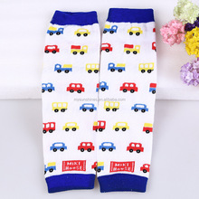 New Leg Warmer Knitted Crochet Socks Leg Boots Warmer Toddler Socks Hot Sale Cartoon Colorful Car Baby Leg Warmers