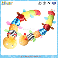 Children Favorite Cute Pal And Colorful Velboa Baby Height Charts Plush Caterpillar Toys
