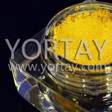 Gold Pearl Pigment for auto paint / Pearl luster Pigment powder paint