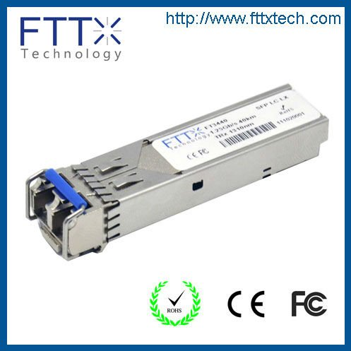 optical fiber cable manufacturer optical sc connector 1.25g sfp module transceiver xfp 10g 1550nm 80km 40km bidi sfp module