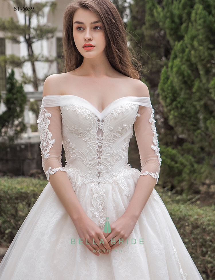 Latest bridal wedding gowns pictures real sample wedding dresses gowns online store