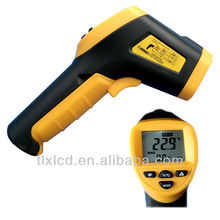 Gun shaped Infrared IR Thermometer/Non-contact Thermometer/Pyrometer Digital with Laser sigting
