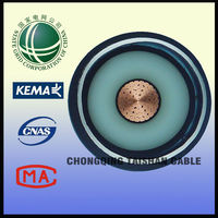 Electrical Cable Specifications 110kV Copper XLPE Insulated PVC 1*500mm2 From State Grid