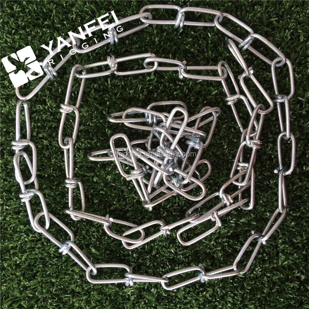 Stainless Steel 316 Double Loop Chain