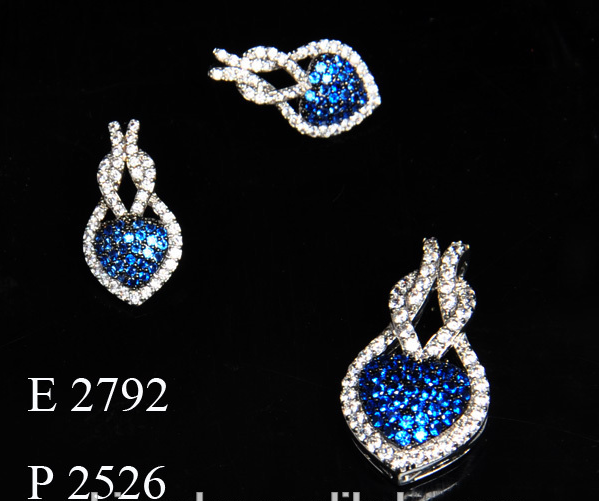 Fashion CZ Artificial Bridal Jewellery Set /Bridal Jewelry Set /18K Gold Jewelry Set