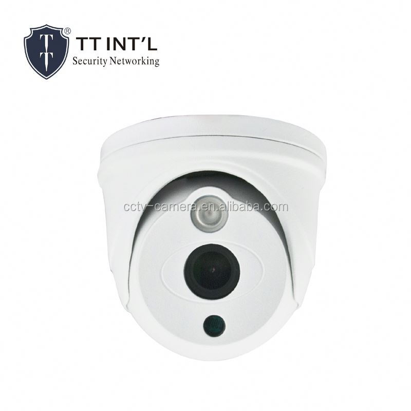 OEM P2P 1.3 Megapixel Onvif IP Camera IP Dome Camera support wifi or POE simple safe alarm system
