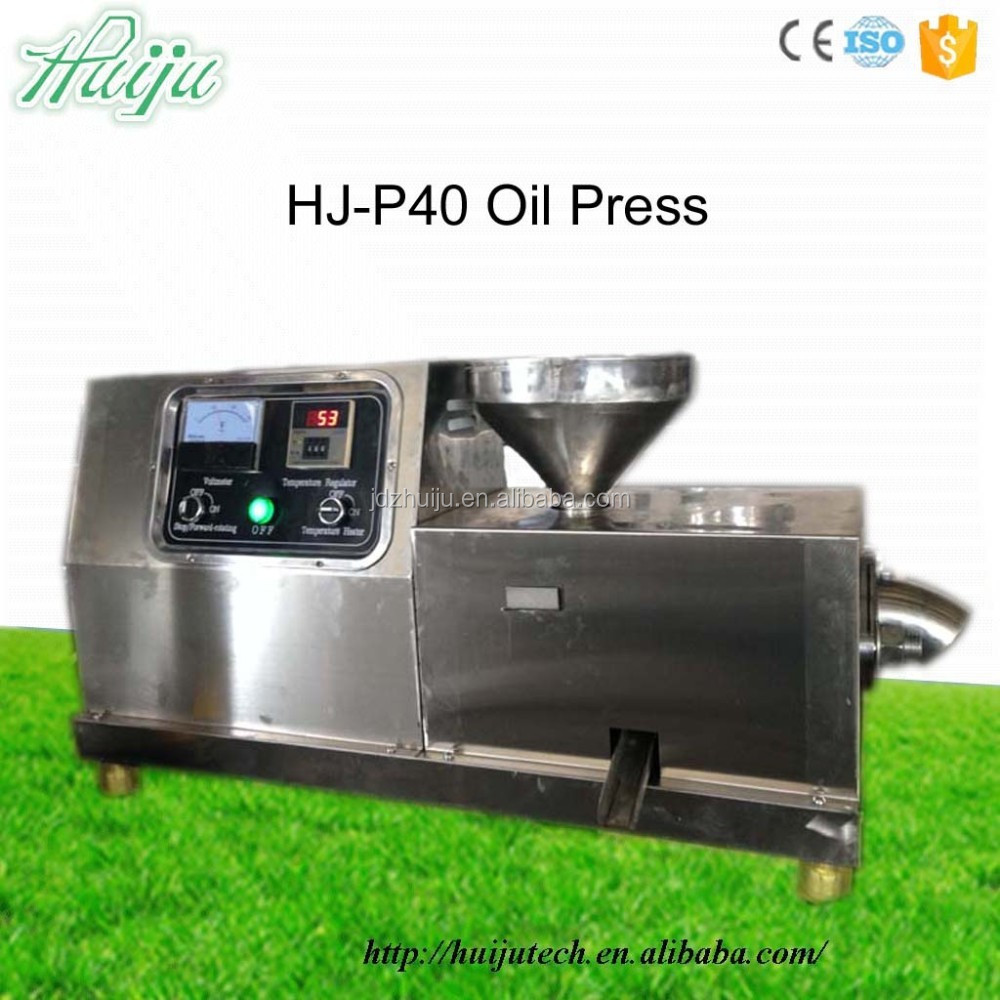 HJ-P40 Hot and Cold pressing Walnuts hemp seed oil press