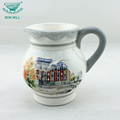 Eco friendly food grade chinese porcelain coffee storage jar