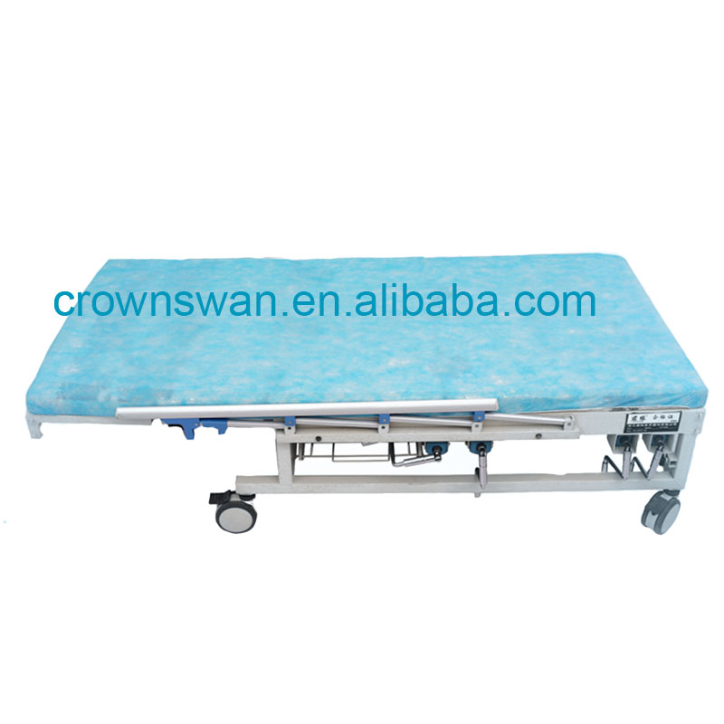 disposable surgical blue bed sheet/bed cover/umbrella stand cover