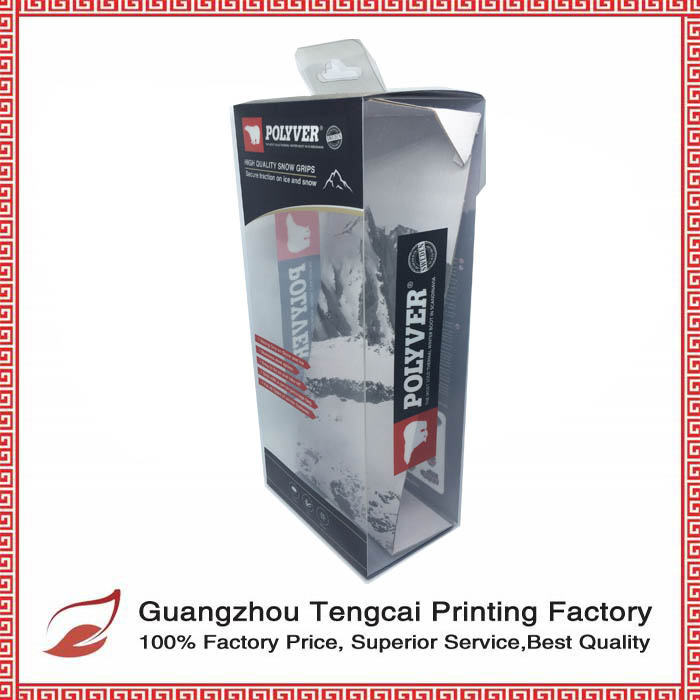 Factory Clear Plastic Transparent Printed pet/pp/pvc Printing Folding Box