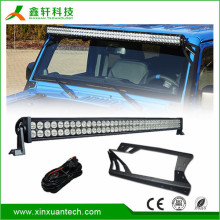 "Curved LED driving light bars 40 inch IP68 waterproof 12V 24V 240w 40"" led bar"