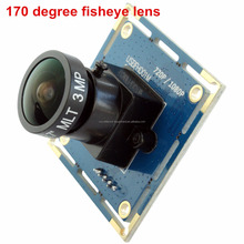ELP 2MP 120FPS VGA MICRO CMOS USB webcam wide angle With 170 degree fisheye Lens