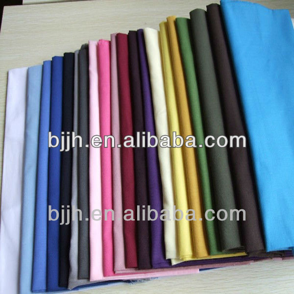Factory price polyester organic twill cotton fabric roll wholesale
