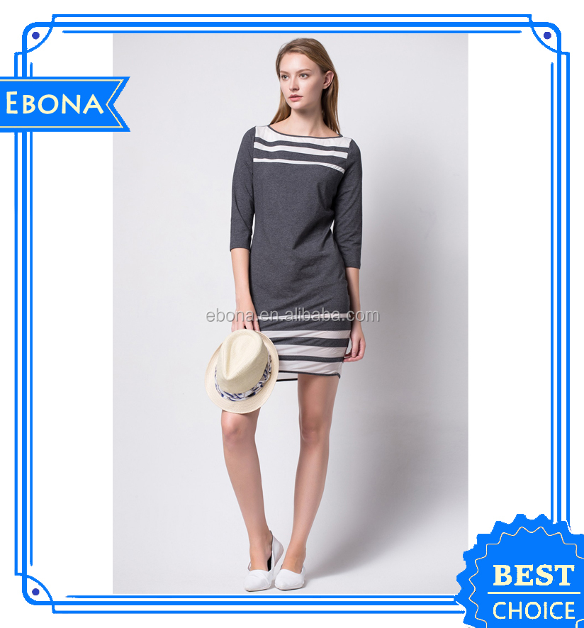 High Quality Popualr Fat Women Latest Casual Dress Designs Lady Short Frock Designs Sexy Dresses