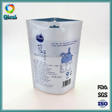 2016 product Hot Factory Price Plastic Standing Up Bag for snack food