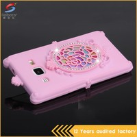 Wholesale bulk cheap pink color tpu phone cases for samsung j2