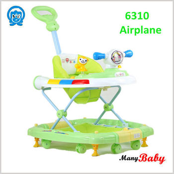 2015 lowerst price good quality Baby walker green 6310