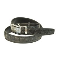 Crocodile Leather Belt for Mens