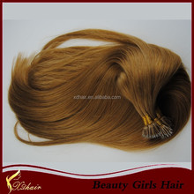 directly factory price alibaba certified italian glue double drawn nano ring hair weave