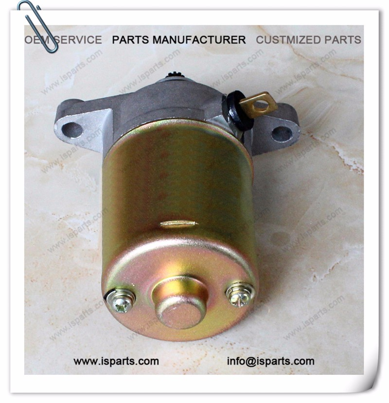 10T GY6 50cc starter motor motorcycle scooter spare parts