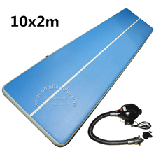 Outdoor tumble track inflatable air mat for gymnastics, water inflatable air track