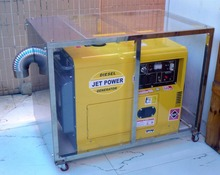 Small portable 5kw Air-Cooled Diesel Generator Set 5kva AC Single Phase