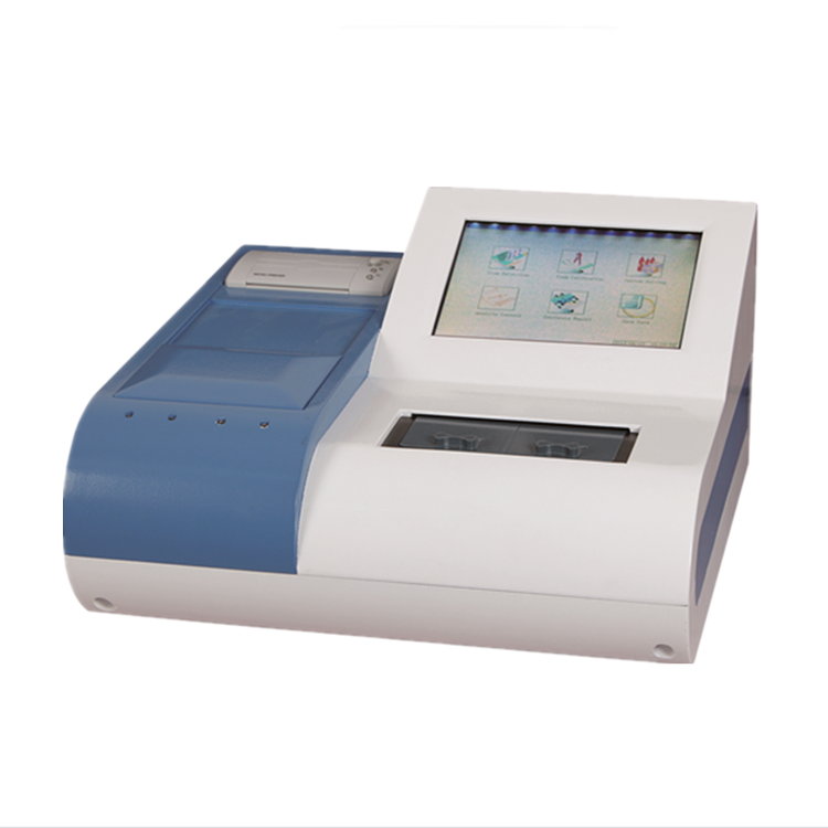 PUN-2048A PUN-2048B latest two-channel portable medical blood coagulation analyzer PC connecting lab coagulation meter