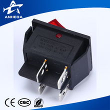Factory supply single pole cateye rocker switch