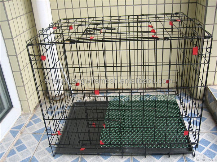 cheap low price pet dog cage kennel house commercial outdoor stanless steel galvanized pvc coated metal welded factory of china