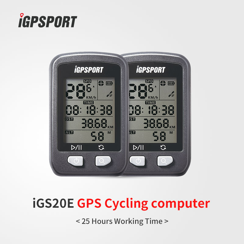 IPX6 waterproof big screen iGS20E iGPSPORT gps navigation