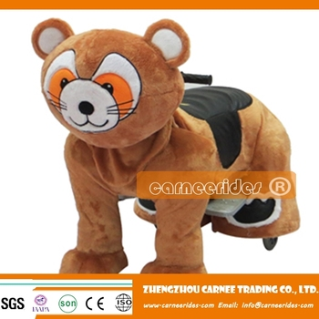 cartoon walking children rides in malls fairground stalls for sale with high quality