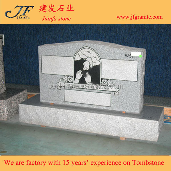 Cheap New Couple Grave Cemetery Granite Monuments