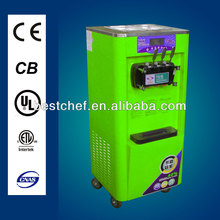 commercial soft ice cream maker with certificate,stand ice cream machine