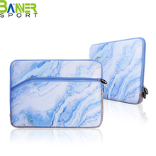 Fashion marbling printed laotop sleeve bag case neoprene notebook computer sleeve