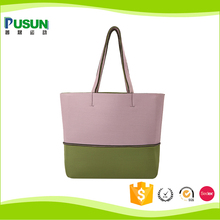 China best felt beach towel tote bag