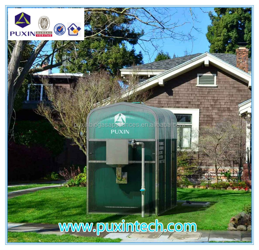 China Puxin Renewable Economic Portable Household PVC Biogas Small Plants Biogas Digester