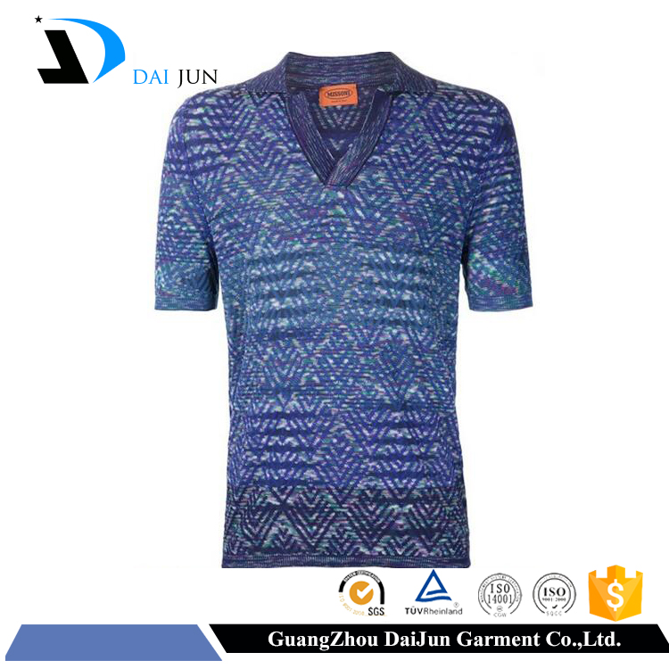Daijun oem 100%polyester sublemation printing 240g custom multicolored fancy no label men wholesale hollister polo t-shirt