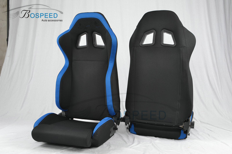 Bospeed adjustable leather racing seat car racing seat R100