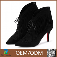 hottest selling lovely thin super high heel Guangzhou