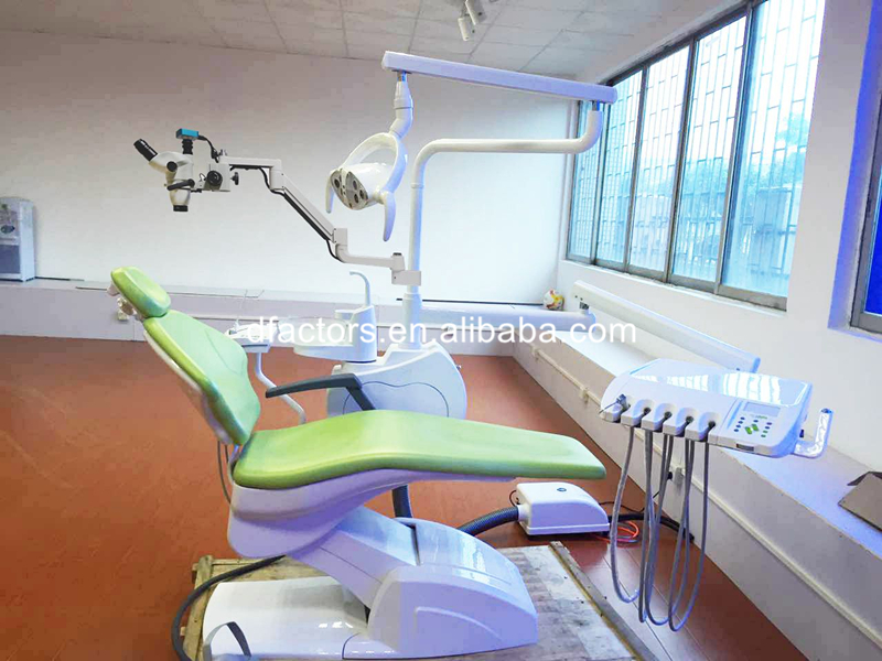 Trolley Type Dental Root Canal Therapy Operating Microscope Loups