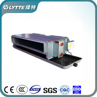 China Manufacture CE Approved High Efficiency Concealed Duct Chilled Water Fan Coil Units