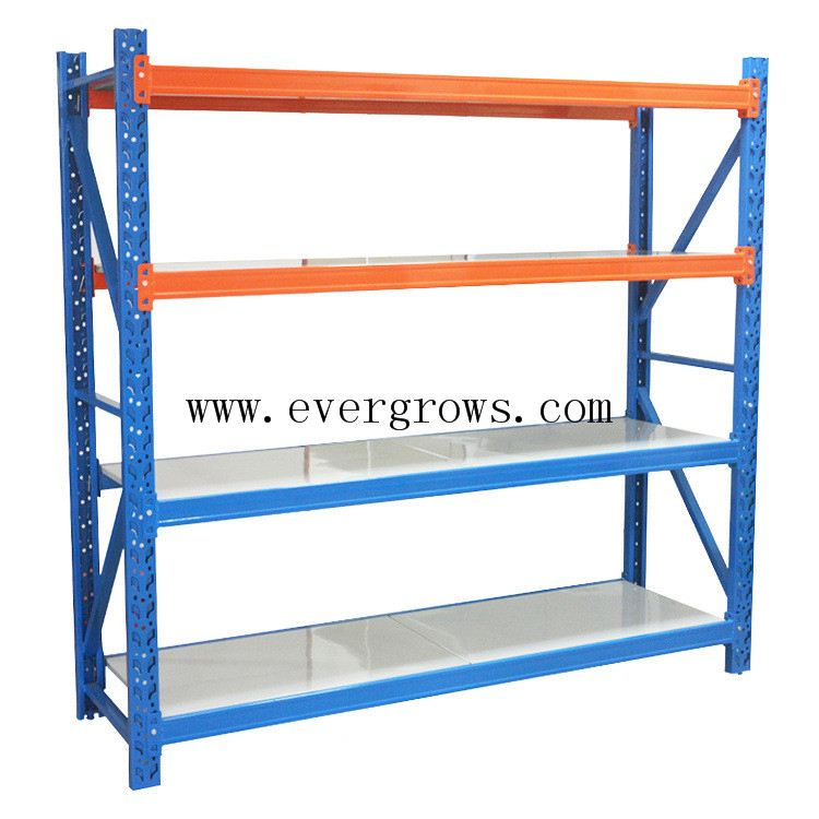 DIY grocery storage metal shelf from rack factory