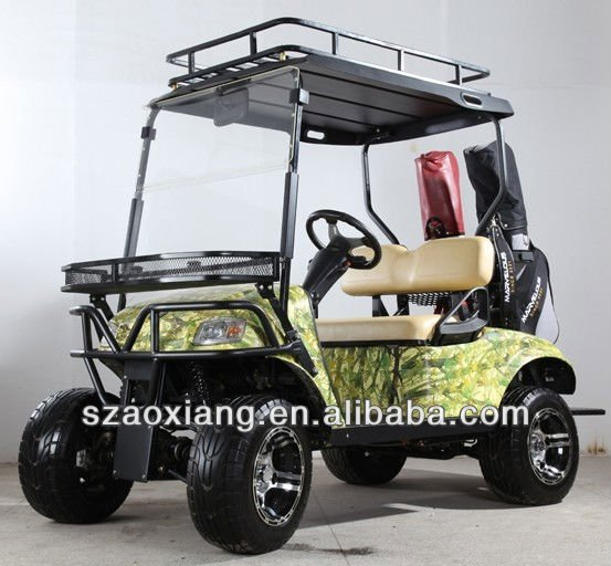 4 seater electric hunting buggy,4X4 Electric Golf Cart,with 48V 5KW DC Motor
