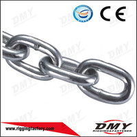 Strong ASTM80 High Test Galvanized Metal Chain G43