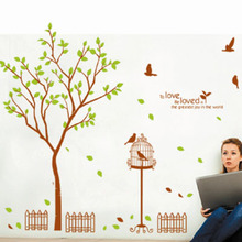 Removable adhesive 3d family tree wall sticker